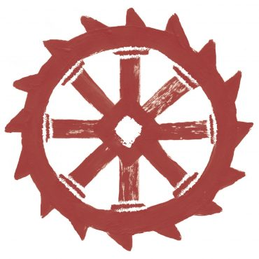 Wasserrad_rot